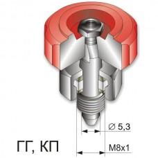 Узел вентиля в сборе (ГГ) к газовым резакам Р3 ПРОМIНЬ 347, газовым горелкам Г2 ЗIРКА 224/233