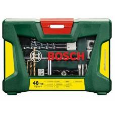 Набор сверл TiN и бит Bosch V-Line 48