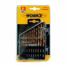 Набор сверл Works H1301-3 (13 шт)